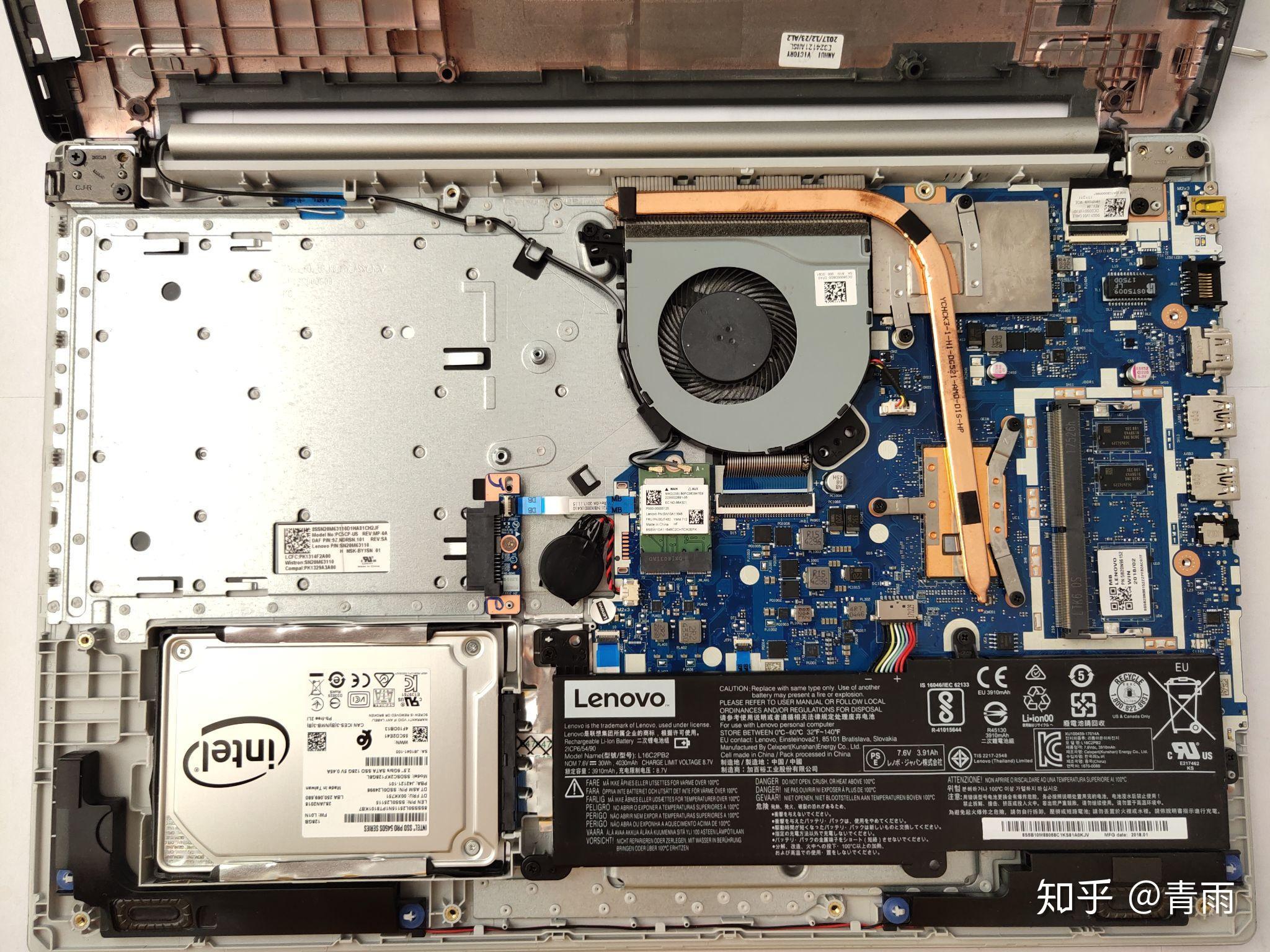笔记本电脑加内存卡_联想小新潮5000拆机加内存教程 - 知乎