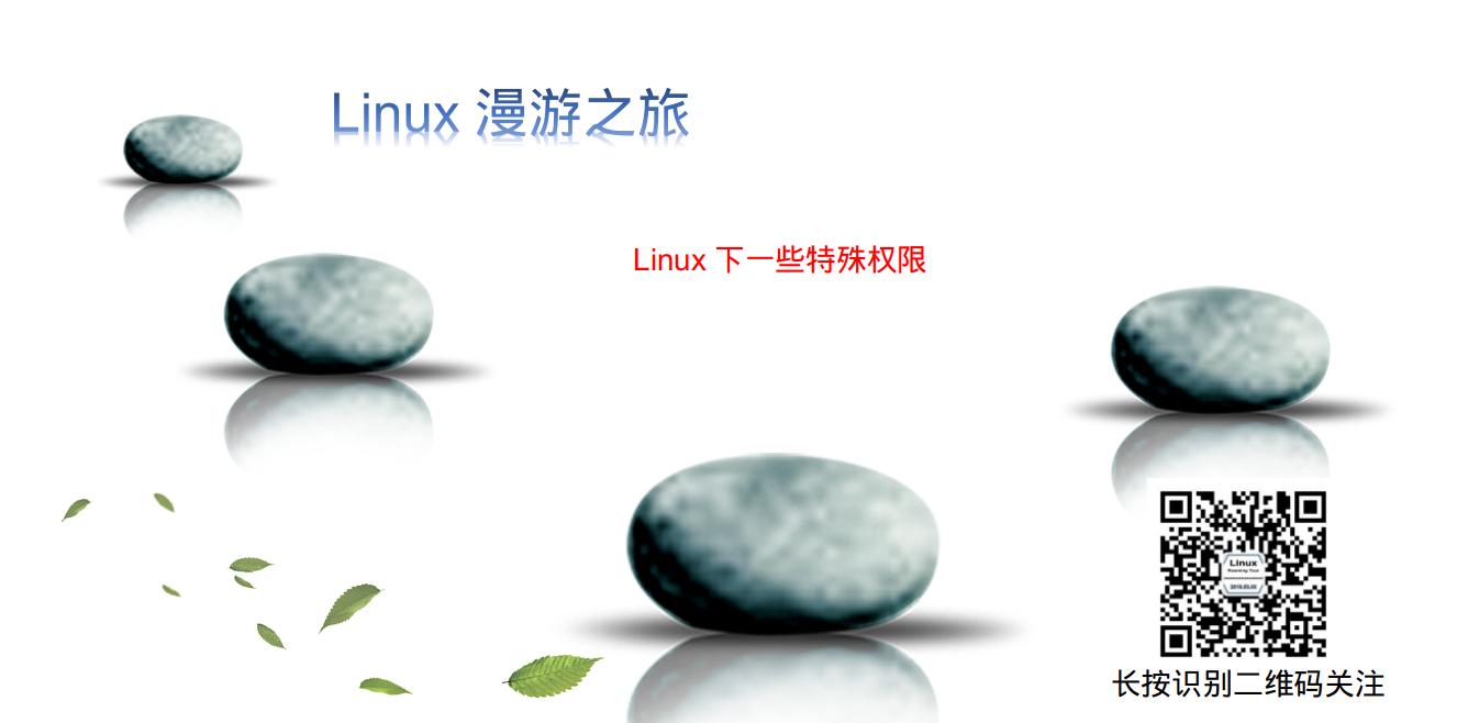 Linux 下一些特殊权限