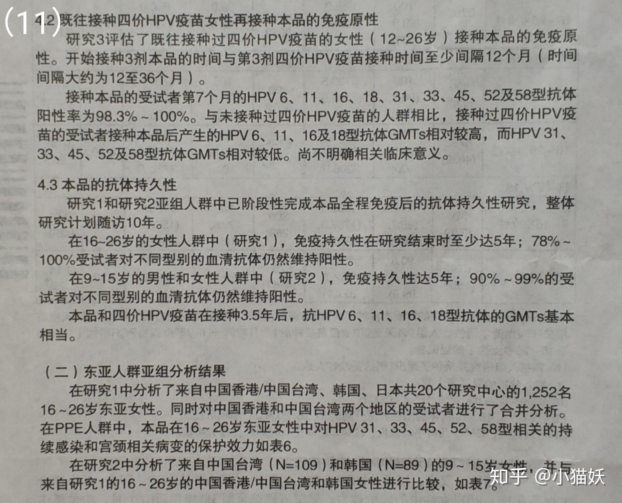 圆环病毒疫苗说明书_九价人乳头瘤病毒疫苗(酿酒酵母)说明书 - 知乎