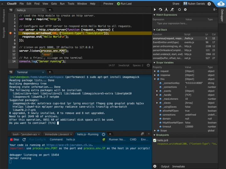 可以在300多种浏览器组合上创建和测试wordpress,meteor,html5和