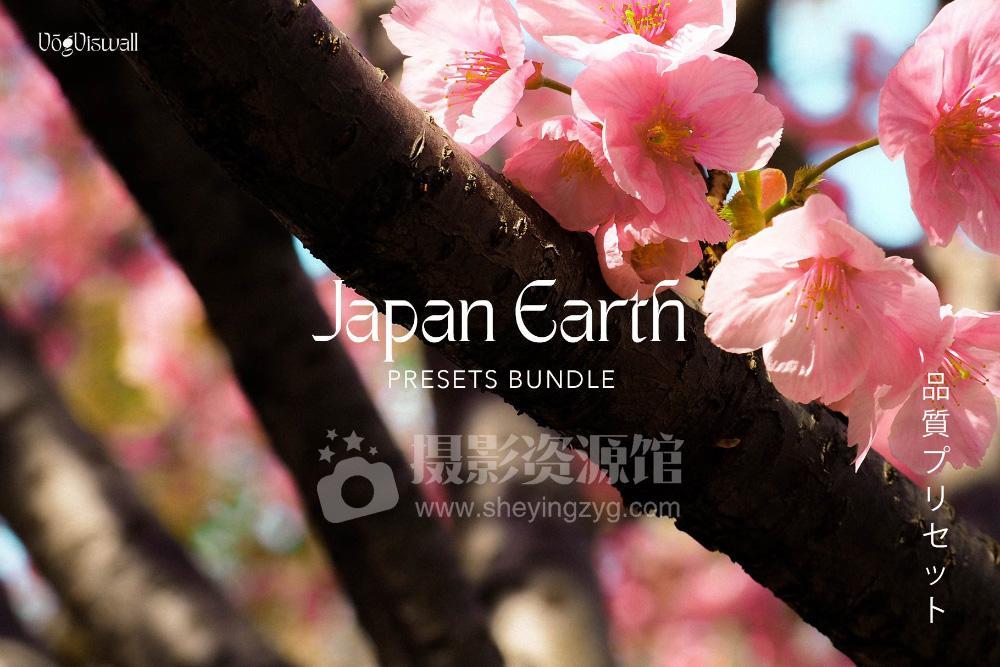 【P455】摄影师Anjani Mega日系复古胶片ins人文风光LR/PS/手机LR预设JAPAN-EARTH-PRESETS