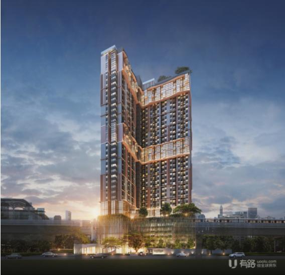 泰国知名开发商Altitude Development打造曼谷新概念高端邻铁公寓Altitude Unicorn Sathorn-Thaphra!