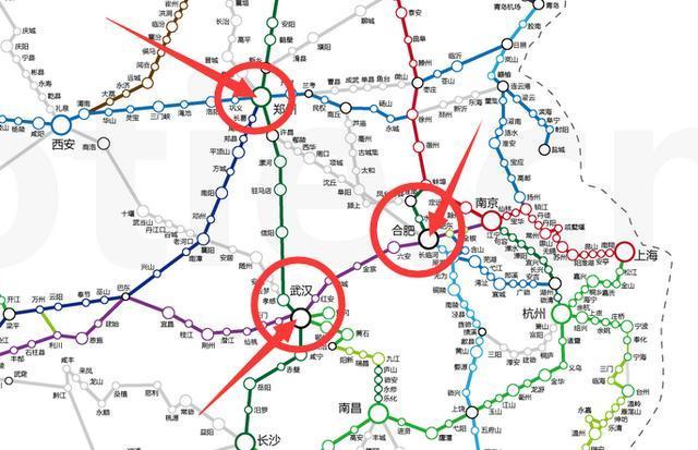"""中国铁路(8):如何看待郑州规划中的""""米""""字高铁网?│脫苦海"""