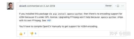 Python-OpenCV录制H264编码的MP4视频! - 知乎