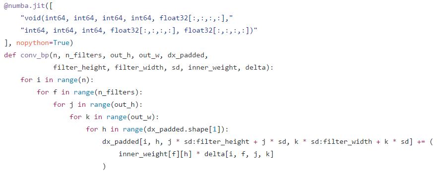 Python · numba 的基本应用- 知乎