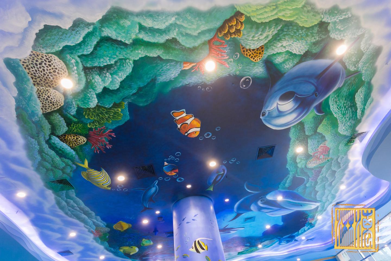南宏海立方乐园绘画