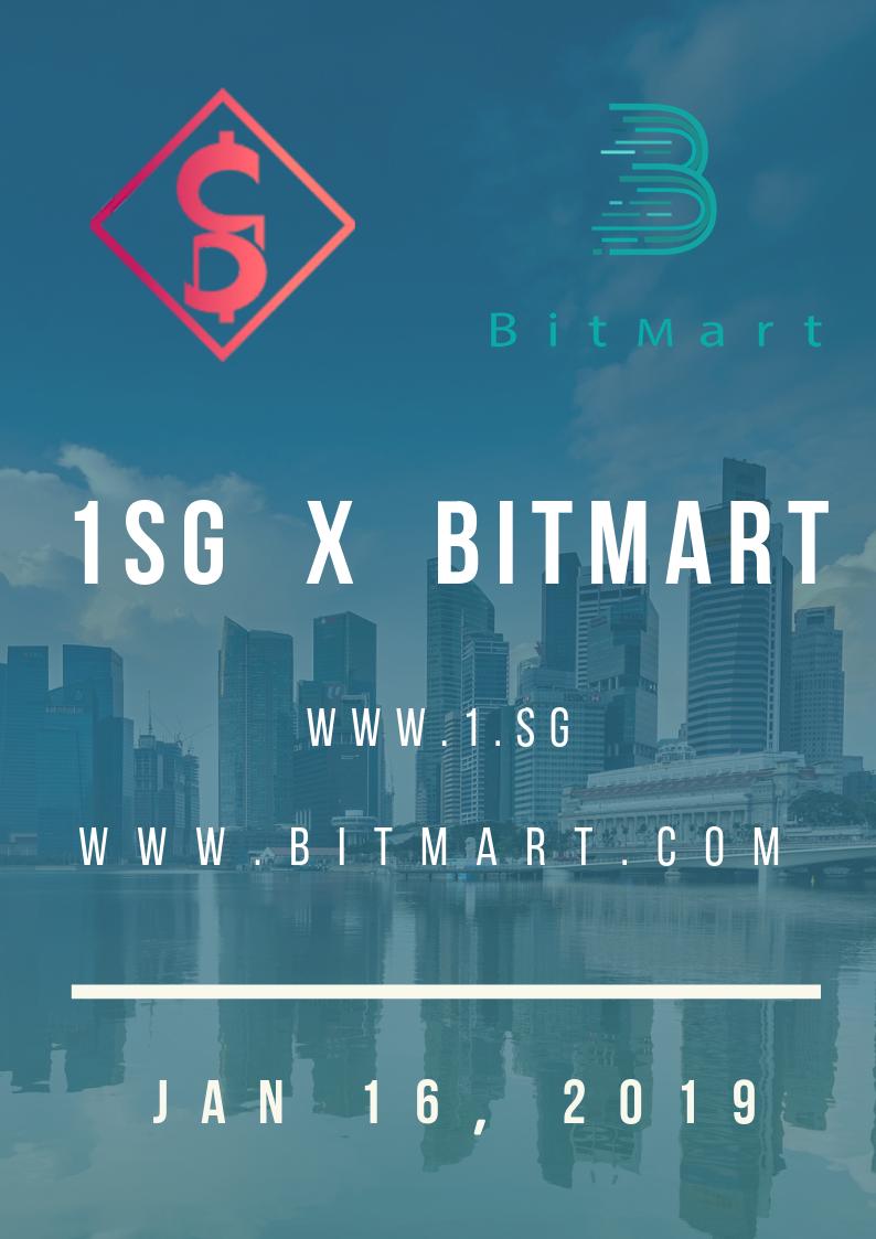 1SG强势登陆BitMart交易平台