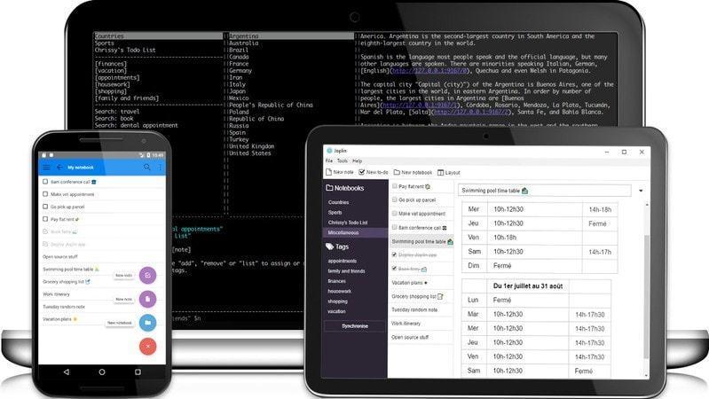 Joplin:真正的 Evernote 开源替代品