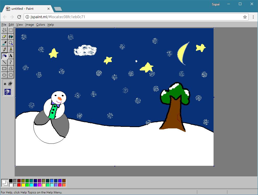 在这个网页上,体验Windows 最经典的画图工具:JS Paint - 知乎