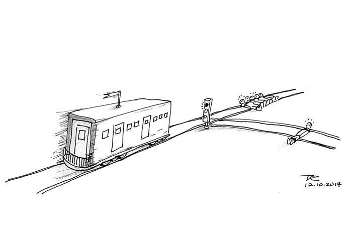 【思想实验之一】电车难题