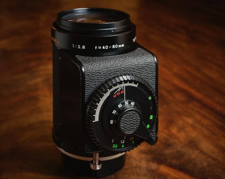 【变焦1】齿轮箱变焦镜头,一种被遗忘的设计