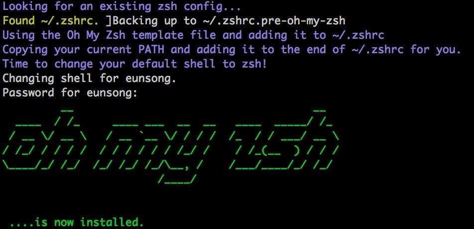 iTerm2 + Oh My Zsh 打造舒适终端体验