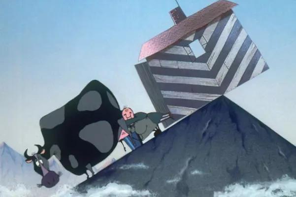 """国际获奖动画《山顶小屋咚咚摇》:原来是在讲""""经济""""……"""