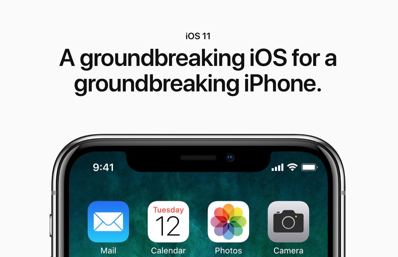 iPhone X 设计适配指南 & iOS 11 新特性