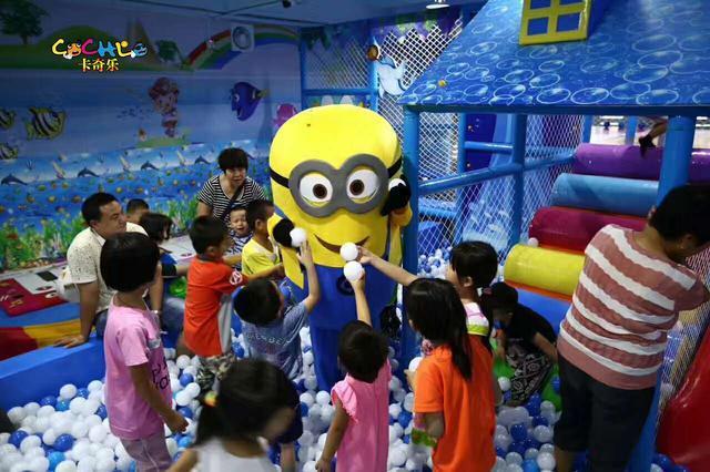 天水儿童乐园合作加盟 加盟资讯 游乐设备第1张