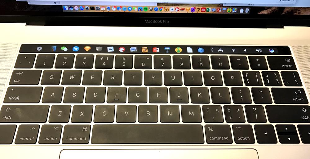用 TouchBar 来切换应用窗口