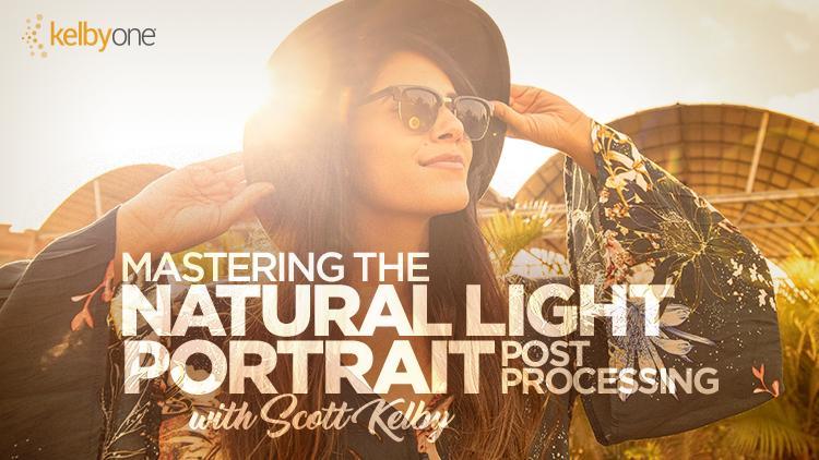 【S576】摄影师Scott Kelby自然光人像摄影教程