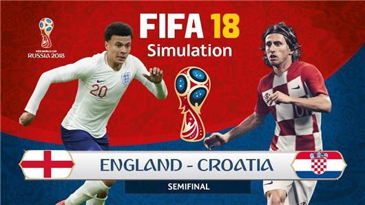 世界杯 02:00 克罗地亚 VS 英格兰