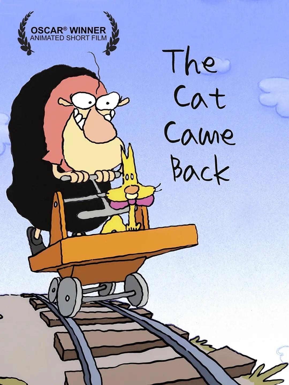 """奥斯卡短片赏析《猫咪又回来了》:不懂艺术,经典变""""邪典""""……"""