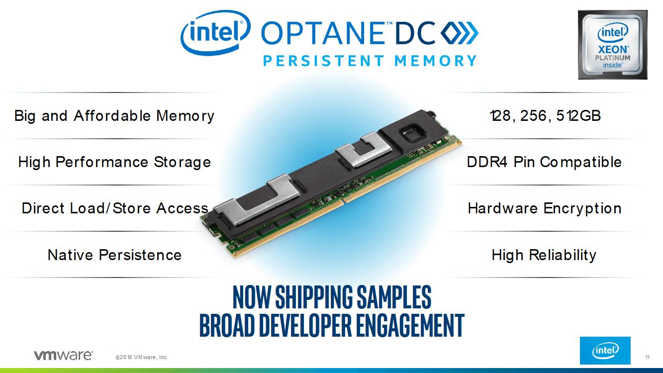 Intel Optane DC持久化内存性能测试、数据库应用优化