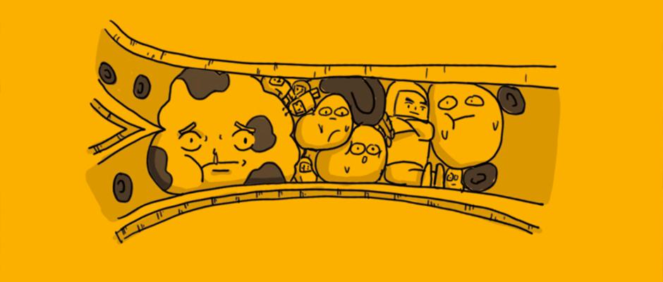 漫画 | 好好的血管,怎么说堵就堵?
