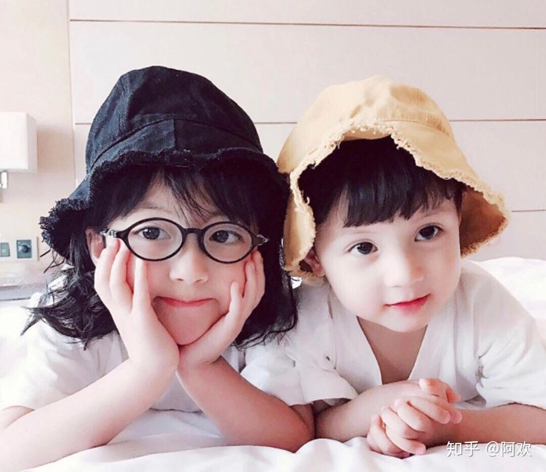 可爱的小孩子情侣头像,萌娘资源站